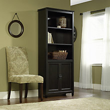 Edge Water Bookcase with Doors, SAU-409046