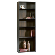 Beginnings Cinnamon Cherry Five Shelf Bookcase, SAU-409090