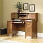 August Hill Computer Desk with Hutch, SAU-409688