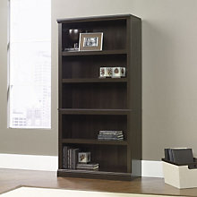 Cinnamon Cherry Finish Five Shelf Bookcase, SAU-410174