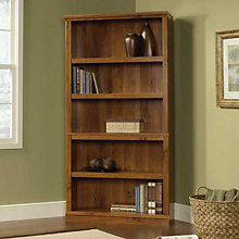 Abbey Oak Five Shelf Bookcase, SAU-410175