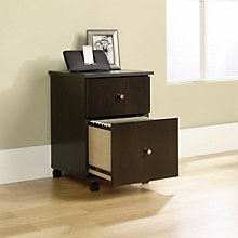 Cinnamon Cherry Mobile File Cart, SAU-410637