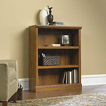 Abbey Oak Three Shelf Bookcase, SAU-411815