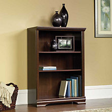 Carolina Estate Three Shelf Bookcase, SAU-411898