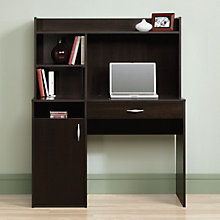 "Beginnings Compact Desk with Hutch - 43""W, 8804367"