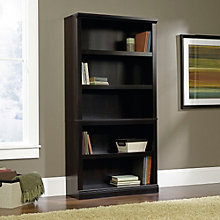 Select Cherry Finish Five Shelf Bookcase, SAU-412835