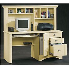 Harbor View Computer Desk with Hutch, SAU-401634S