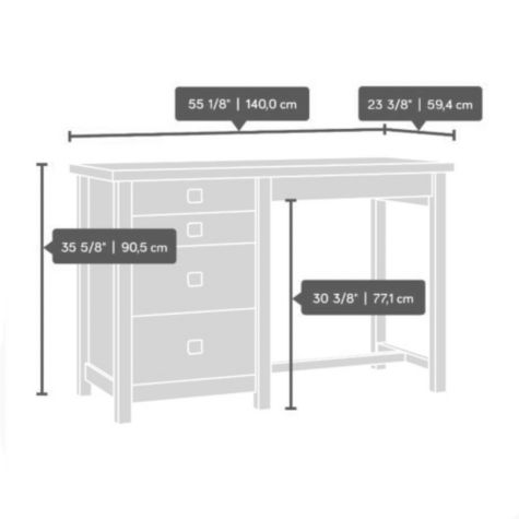 Counter Height Work Table : Cannery Bridge Counter Height Work Table 55.125W OfficeFurniture.com