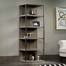 International Lux Five Shelf Bookcase with Split Back, 8804426
