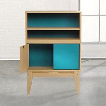 "Soft Modern Bookcase - 45""H, 8804583"