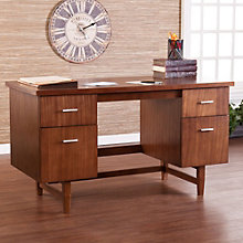 "Kaylee 4 Drawer Writing Desk - 54""W, 8802695"