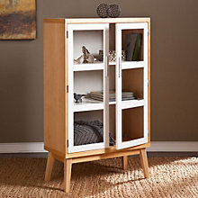 "Halifax Glass Door Storage Cabinet - 50""H, 8802707"