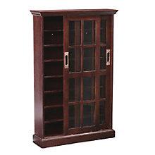 "Manor Eight Shelf Sliding Door Media Cabinet - 48.75""H, 8802771"