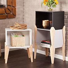 Ottico Set of Three Stackable End Tables, 8802734