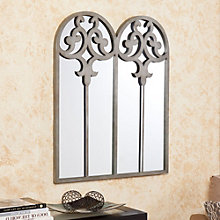 "Cicero Antique Decorative Mirror - 38.25""H x 31.5""W, 8802778"
