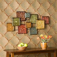 """Bijou Decorative Wall Sculpture - 41.5""""W x 20.75""""H, 8802781"""
