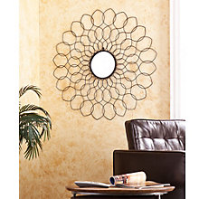 "Spiro Metal Frame Wall Mirror - 36""H x 36""W, 8802719"