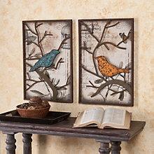"Redfield Decorative Bird Wall Panel - 16""W x 24""H each, 8802782"