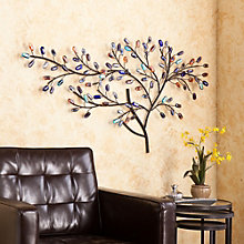 "Brenchan Tree Shaped Wall Sculpture - 44.75""W x 25""H, 8802720"
