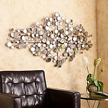 "Oblishen Mirrored Wall Accent - 49.25""W x 27""H, 8802723"