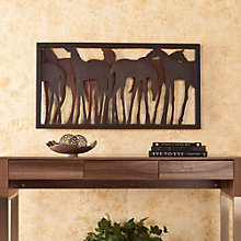 """Frontier Metal Wall Hanging - 43.75""""W x 23""""H, 8802729"""