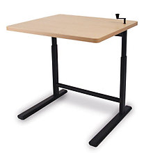 "Rectangular Crank Height Adjustable Table - 42""W, SIU-1609"