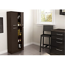 "Fiesta 61""H Four Door Storage Cabinet, SSF-10991"