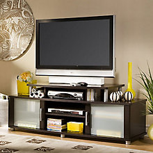 Chocolate Finish Widescreen TV Stand, SSF-4219601