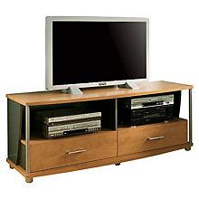 Honeydew/Charcoal Widescreen TV Stand, SSF-4257-662