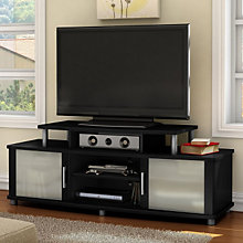 Pure Black Finish Widescreen TV Stand, SSF-4270-601