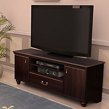 Dark Mahogany Traditional TV Stand, SSF-4316677