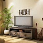 Skyline Chocolate Widescreen TV Stand, SSF-4359663