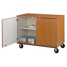 "Heavy-Duty Mobile Storage Cabinet - 36""H, STI-8060181-36"