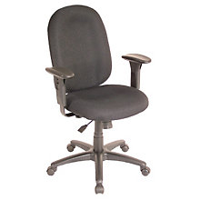 Mid Back Ergonomic Chair with Arms, STL-4151A