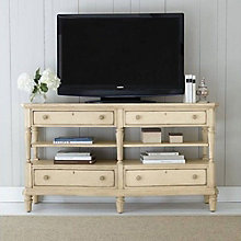 "European Cottage Media Console - 66""W, 8804754"