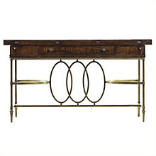Avalon Heights Flip Top Console Table, 8804767