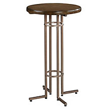Santa Clara Round End Table With Metal Base, 8804809