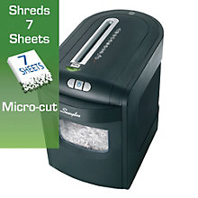 6 Gallon Micro Cut Level P5 Paper Shredder, 8801960