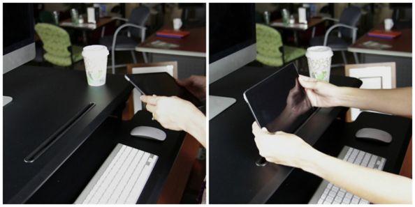 Surge Desktop Riser Tablet Stand