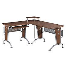 Mahogany L-Desk, RTP-3806