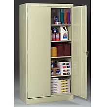 "Fully Assembled Steel Storage Cabinet - 36""W x 24""D x 72""H, TES-7224"