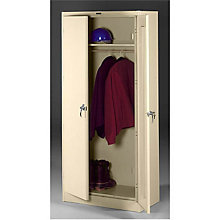 "Fully Assembled Steel Wardrobe Cabinet - 36""W x 24""D x 78""H, 8804090"