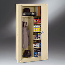 "Ready to Assemble Steel Combination Storage Cabinet - 36""W x 24""D x 78""H, TES-2472"