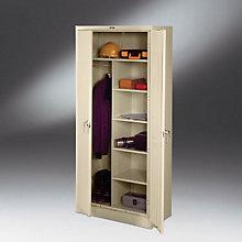 """Deluxe Storage/Wardrobe Cabinet - 78""""H, TES-7814"""