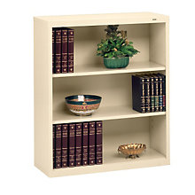 "Three Shelf Steel Bookcase - 13-1/2""D, TES-B-42"