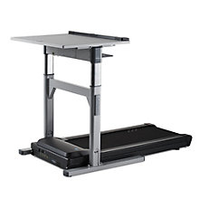 "Electric Adjustable Height Treadmill Desk - 45""W x 70""D, LIS-11001"