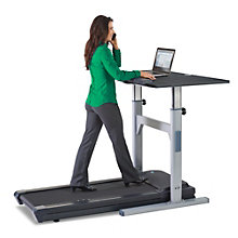 "Manual Adjustable Height Treadmill Desk - 45""W x 70""D , LIS-10996"