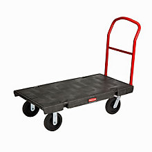 Rubbermaid Heavy-Duty Platform Truck - 1000lb Capacity, UNE-RCP443600BK