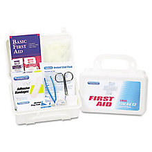 Office First Aid Kit for up to 25 People  - 113 Pieces, UNE-ACM25001