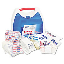 Office First Aid Kit for up to 25 People - 182 Pieces, UNE-ACM90121